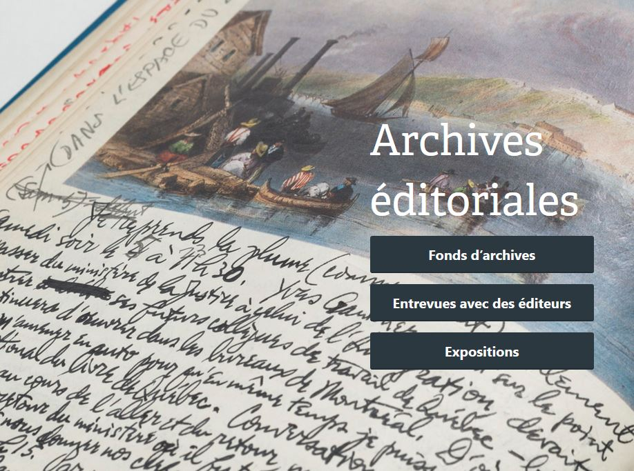 Archives éditoriales